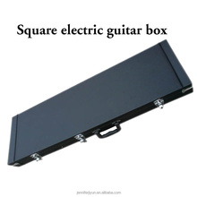 brand new electric guitar square leather hard cases