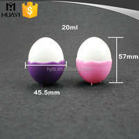 colorful egg shape oval plastic mini small spray bottle