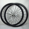 China carbon road bicycle wheelset 50mm clincher lightweight 700c carbon track wheel