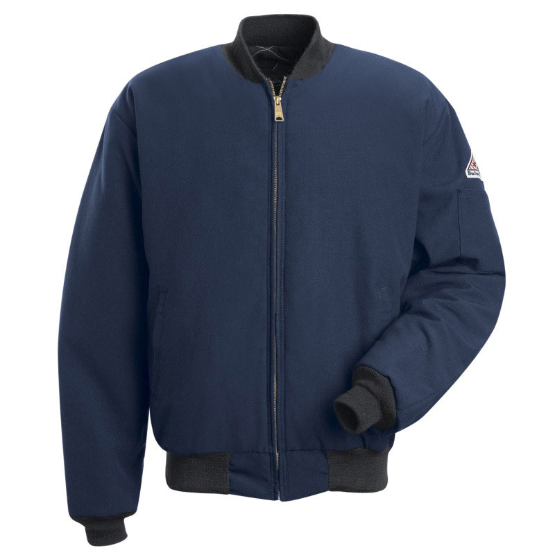 Wholesale Mens Winter Uniform FR Jacket with Full Zipper