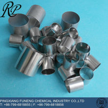 Excellent thermal property SS304 raschig ring size 50mm for distillation tower