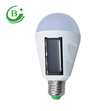 High quality rechargeable LED solar emergency light bulb