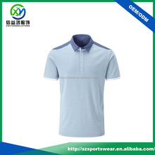 Function performance quick drying fabric mens polo lawn bowls t shirt