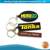 New Products Wholesale Custom Metal Name Tag Key Chain