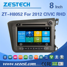 DDR 256MB car stereo equalizer for HONDA CIVIC 2012 RHD ZT-H8052