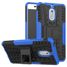 Hybrid Heavy Duty Cover For Nokia 6 Kick Stand Case