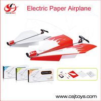 Flying Power up Propeller Model Gliders Electric aircrafts airplane Aviones Conversion Kit Kids DIY Educational Toys paper plane