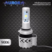newest model Aurora super quality 9006 led headlights extremely bright led daytime running lights./
