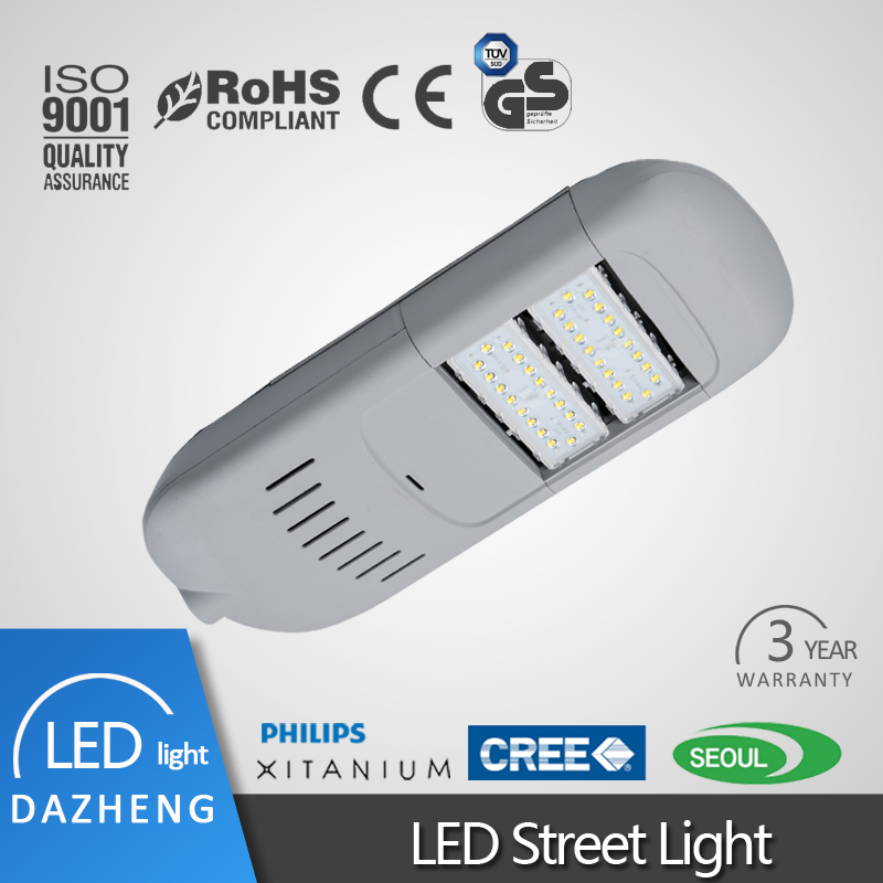 100W led street lamp AC85-265V Or DC24V solar wind led street lights