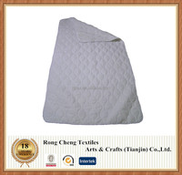 Polyester and cotton quilted mattress pad