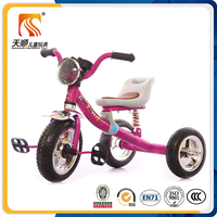 2016 baby tricycle new models with 3 wheels hot sale in china popular for kids