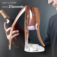 Unique Gift Ideas High Quality Design Rabbit Wine Opener with Gift Box