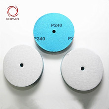 2017 chiyan silicon carbide coated latex paper disc for grinding