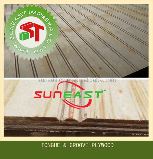 T & G plywood, Tongue and Groove plywood, Grooved plywood