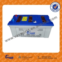 n200 12v 200ah jis standard dry charged used car batteries for sale