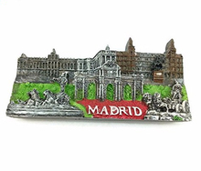 MADRID Spain Souvenir 3D Fridge magnet