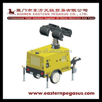 Economical Lighe House Hydraulic Lighting Tower for quarry