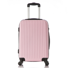 Stripe Travel ABS PC Trolley luggage set/hard suitcase