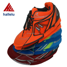 Customize Men Air Mesh Sport Shoes Uppers Semi-finished PU Breathable Brand Trainers Shoes Uppers