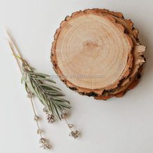 Wood slices, rustic wood coasters, reclaimed willow wood coasters