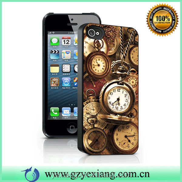 Customized 3D Cases Accept Small Mix Order For iPhone 5 Case