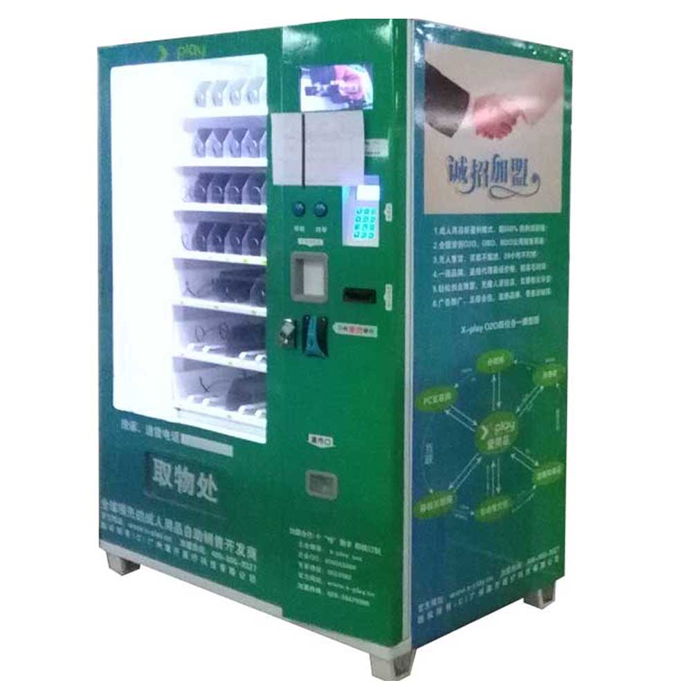 Drink / soda / snack combo vending machine, china supplier LCD screen