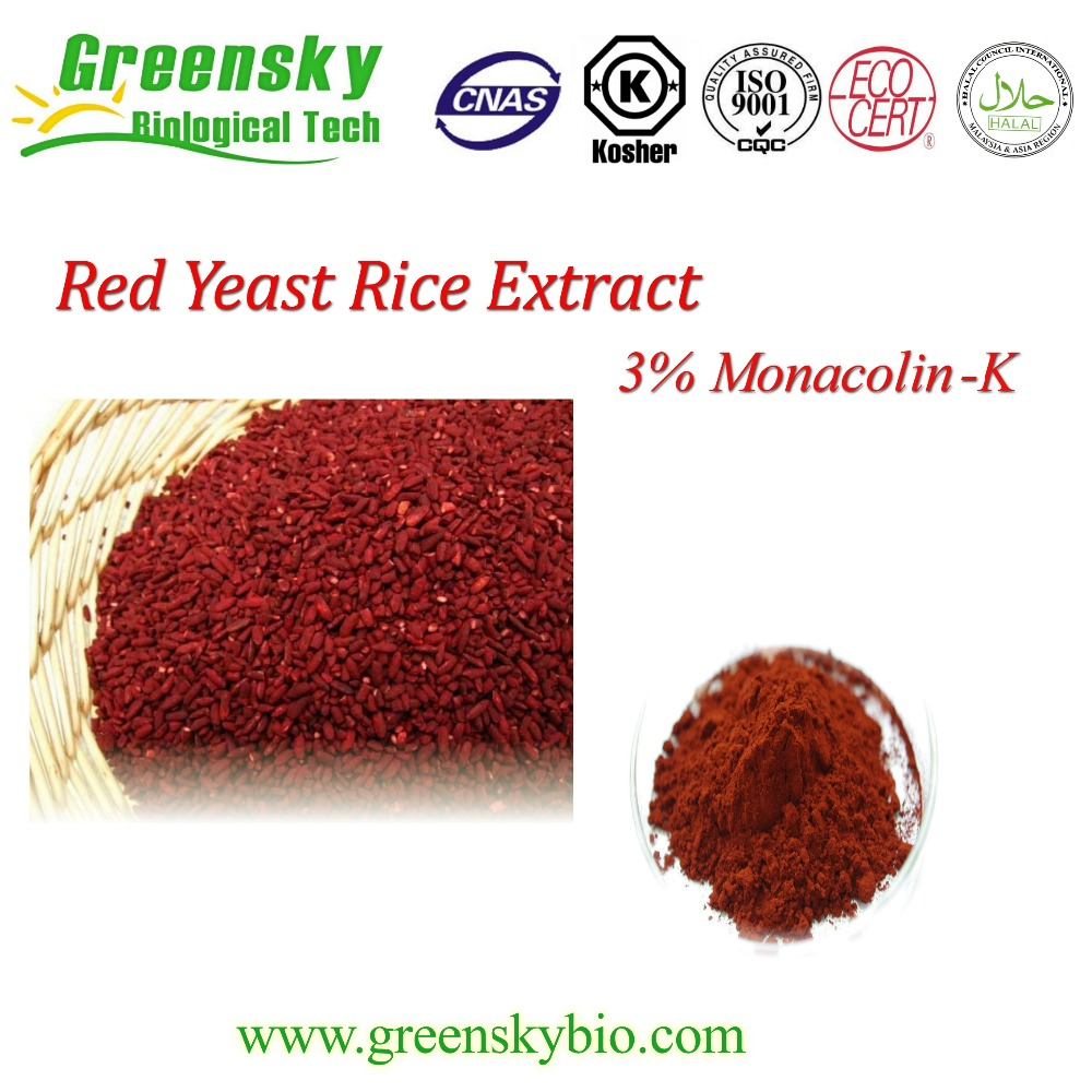 3% Monacolin K Red Yeast Rice Extract Powder