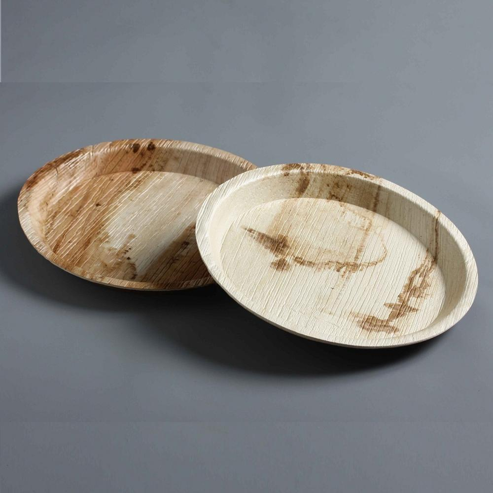 Eco-friendly <strong>natural</strong> disposable palm leaf plates
