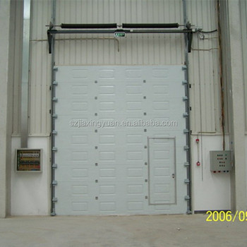 Used security fast sectional industrial door