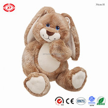 Jumbo teddy rabbit plush soft stuffed fluffy CE custom bunny cute gift kids toy