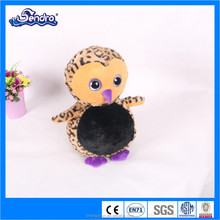 Customized love birds with big eyes cute toys for kids baby lovable