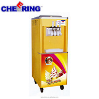 High quality soft-serve ice cream machine with stainless steel agitator