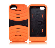 New Design Hybrid PC Silicone Case For iphone 5s/Phone case