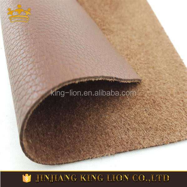 Full Grain Raw Cow Finished Leather Prices for shoes and bags