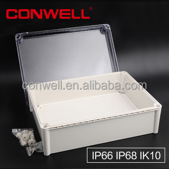IP68 plastic cable enclosure electronic enclosure round plastic <strong>electrical</strong> junction box