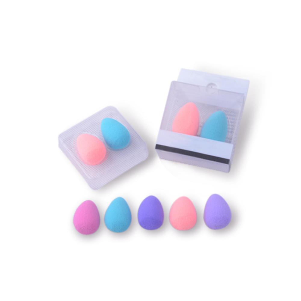 Meidao China Manufacture Make up Sponge Latex Free Mini Beauty Makeup Sponge Set