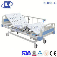 electric beds for the elderly electrical equipment and functions icu hospital bed with pp head foot board