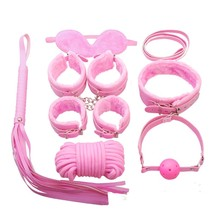 Sex bondage kit 8pcs adult game toys couples erotic toys