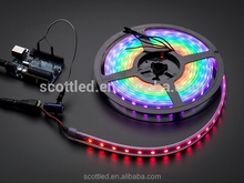 Flexible LED Light Strip addressable display 12V 5m/Reel, with 60pcs ws2812b