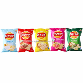 Environmental protection fried chips potato food grade plastic storage packaging polyester stand up bags pouch with high quality