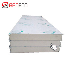 Free sample Pir Sandwich Panel Isopanel / Polyurethane Insulated Price For Roof