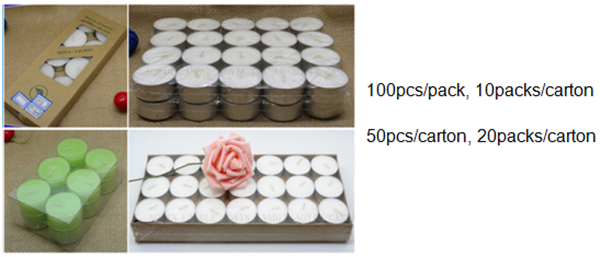Party and Weddings Favors Decorative Tealight Candle