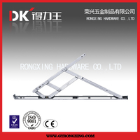 Casement window hinge friction stay for top hung window 5 bars