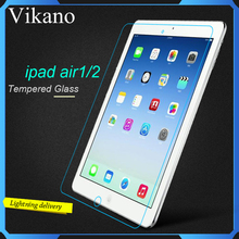 Wholesale New Premium Explosion Proof Tempered Glass For iPad Mini Air 2 Screen Protector Film for iPad 2 3 4 Series