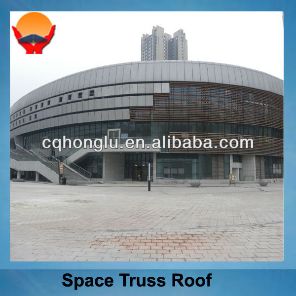 High Quality Steel Building Space Truss Roof