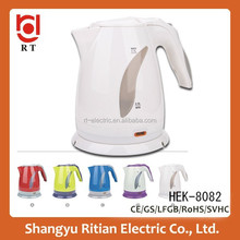 1.7L Kitchen appliances electric travel kettle for home