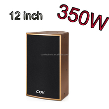 COV F-10 12 inch speaker box design wooden for factory price outdoor speaker