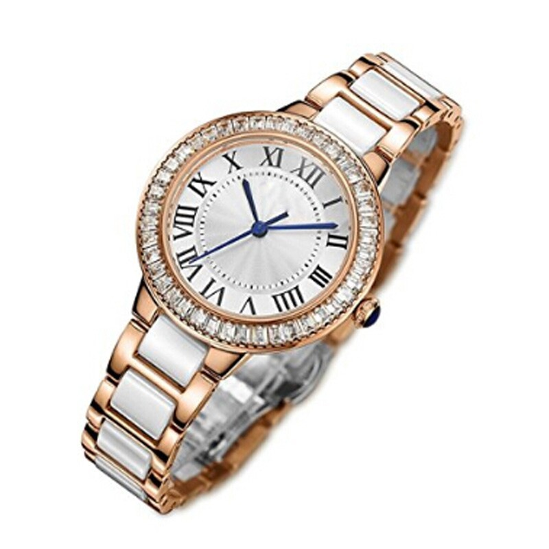wholesale lady 5 atm water resistant stainless steel omax quartz watches trendy