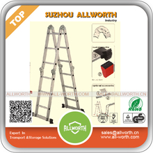 Economical Alloy 5 Tiers Telescopic Ladder Stool