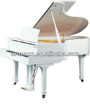 Musical Instruments white grand piano GP-152
